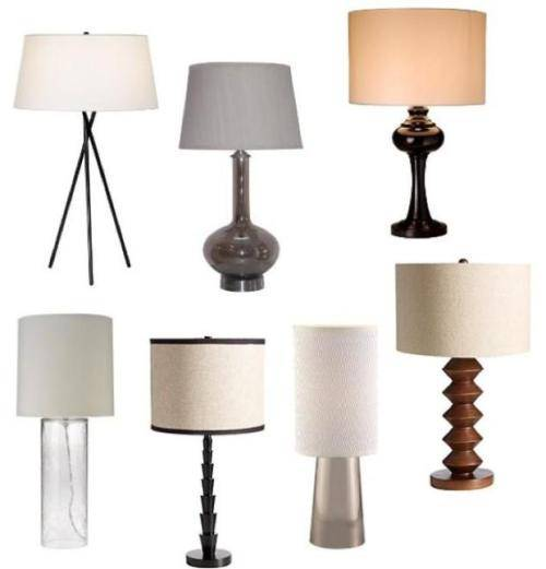 proper bedroom lamp height photo - 1