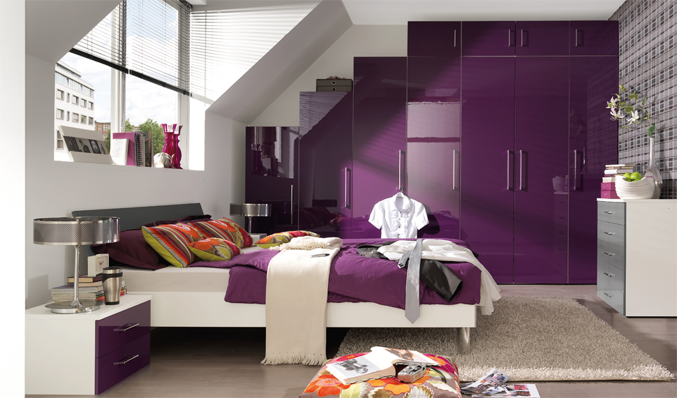 Purple Colored Bedrooms Photo   2 Part 92