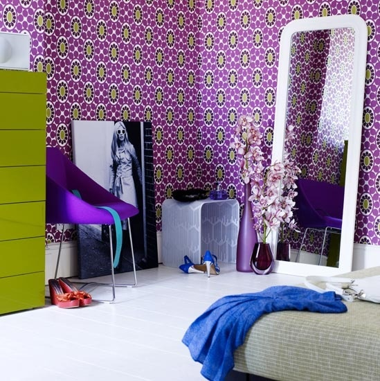 purple colored bedrooms photo - 6