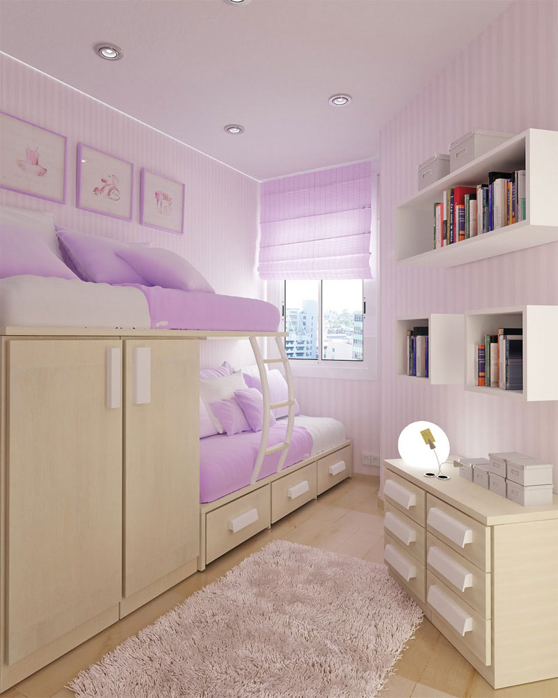 purple colored rooms photo - 6