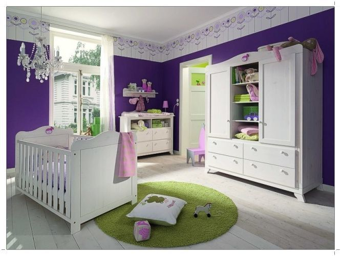 purple room color scheme photo - 5