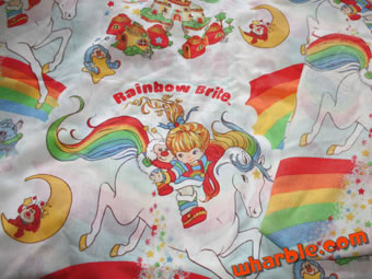rainbow bright bedding photo - 2