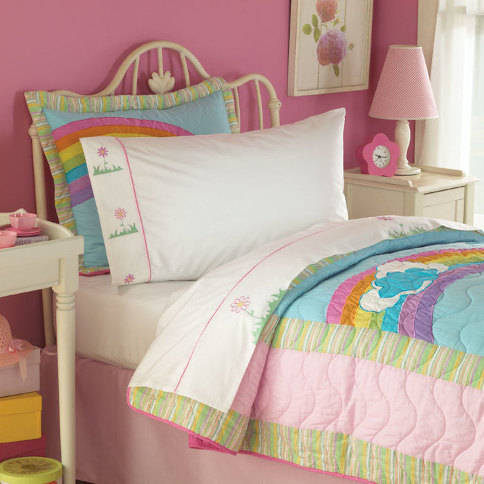 rainbow bright bedding photo - 4