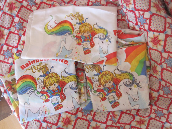rainbow brite bedding set photo - 3