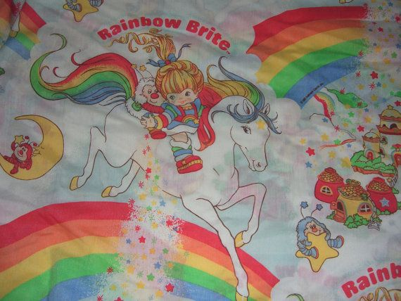rainbow brite bedding set photo - 4