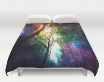 rainbow dorm bedding photo - 6