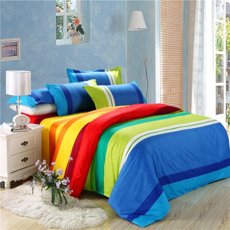 rainbow double bedding photo - 6