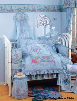 rainbow fish bedding set photo - 2