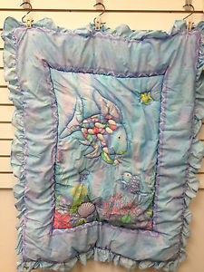 rainbow fish bedding set photo - 5