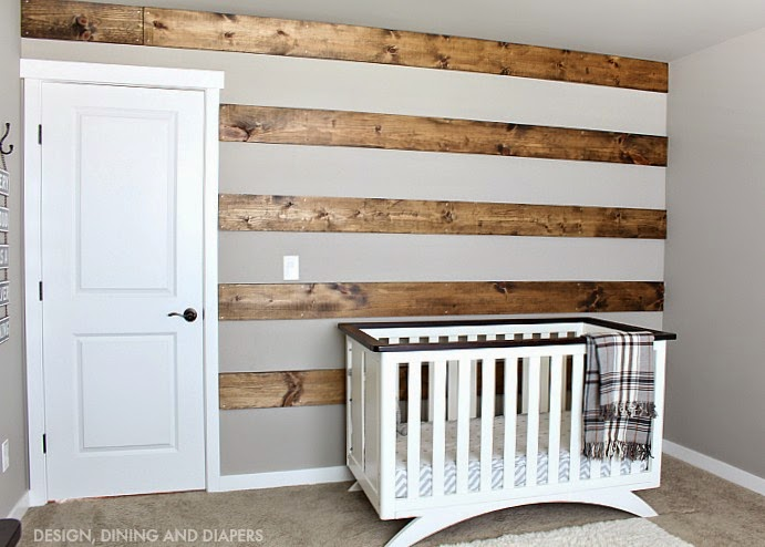 reclaimed wood wall design sponge photo - 3