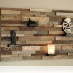 reclaimed wood wall design sponge photo - 5