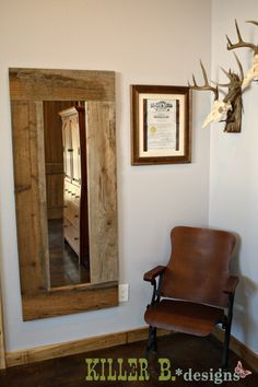 reclaimed wood wall design sponge photo - 6