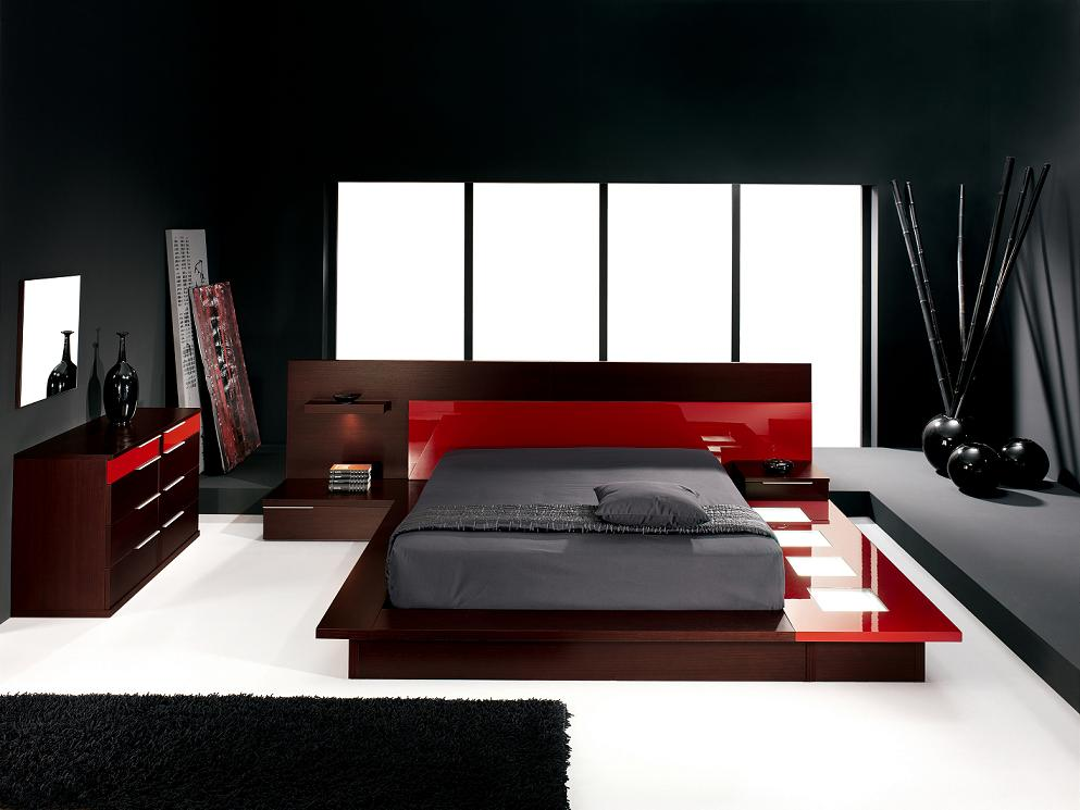 red bedroom furniture ideas photo - 2