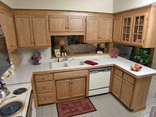 refinishing kitchen cabinets gel stain photo - 1