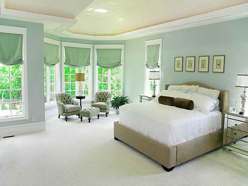 relaxing wall paint colors photo - 2