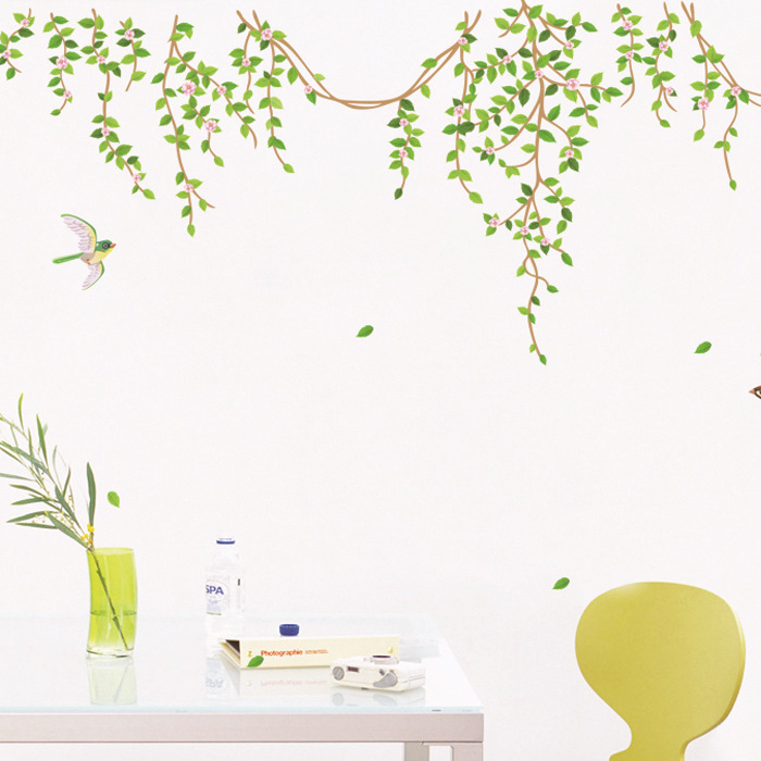 removable wall stickers flowers photo - 3