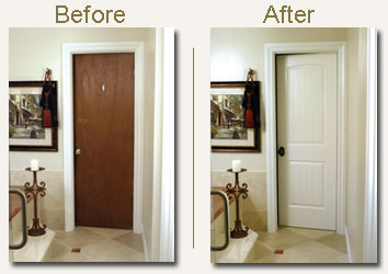 replacing interior french doors photo - 6