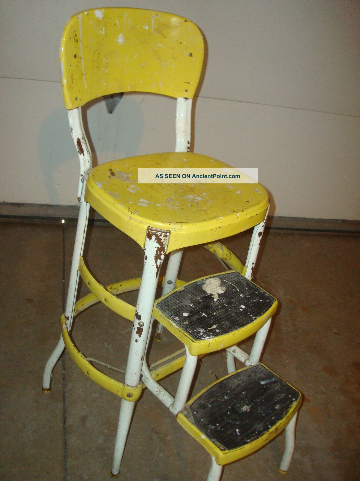 fashioned kitchen chair step stool bar stools