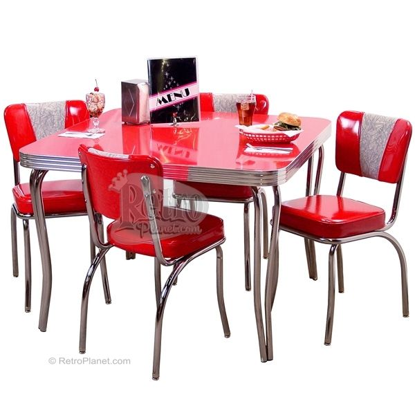 retro kitchen dinette sets photo - 1