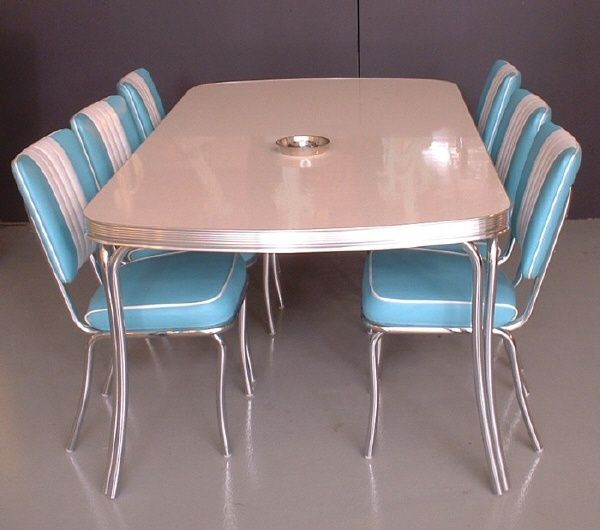 retro kitchen dinette sets photo - 3
