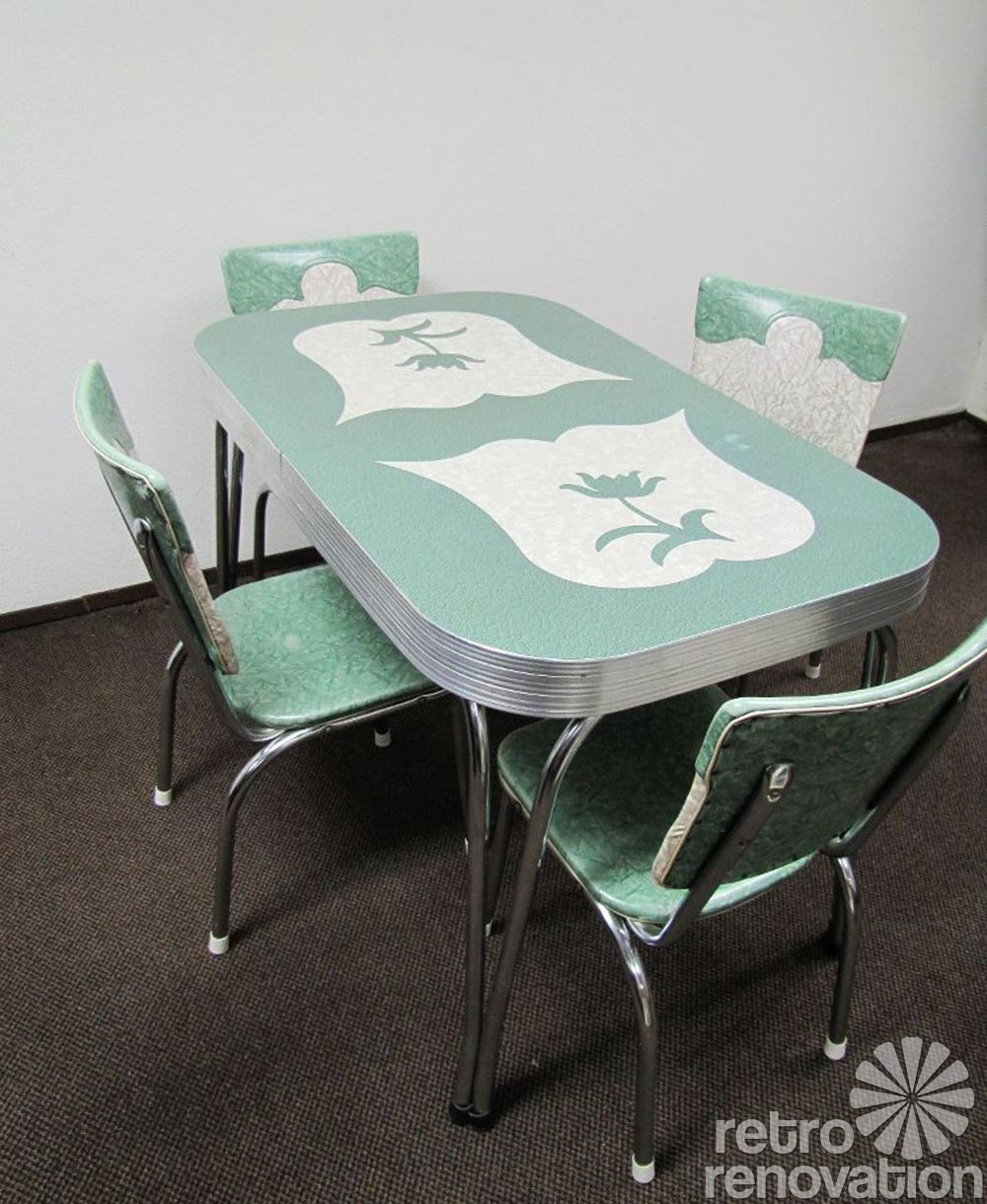 retro kitchen dinette sets photo - 6