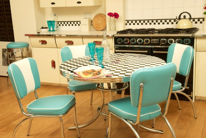 retro kitchen sets furniture photo - 5