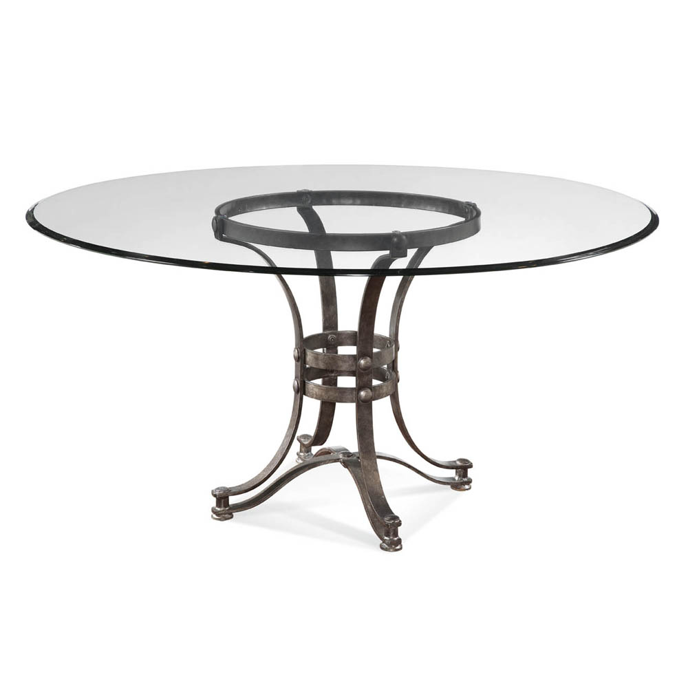 round dining table base photo - 5