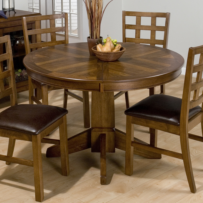 Round Dining Tables Butterfly Leaf