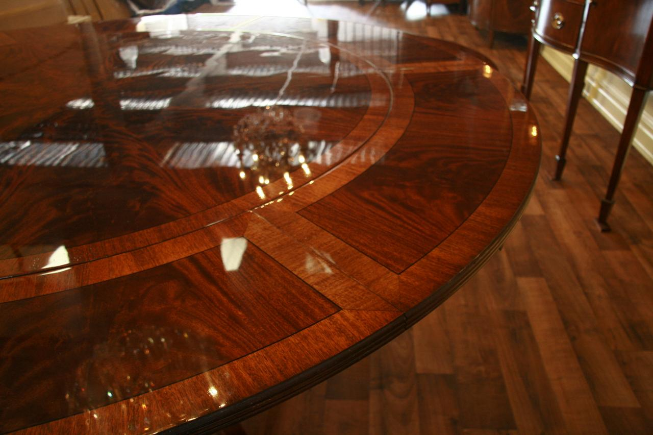 round dining tables for 10 photo - 3