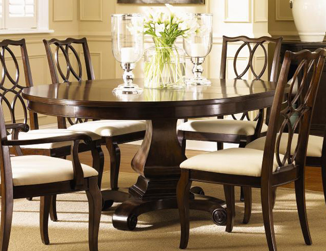round dining tables for 10 photo - 4