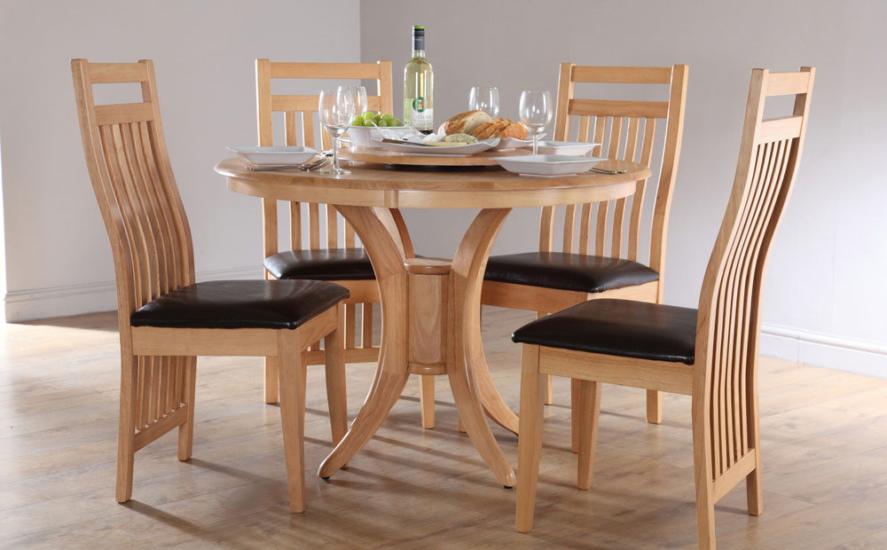 Great Round Dining Tables For 4 Photo   3