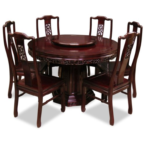 round dining tables for 6 photo - 3