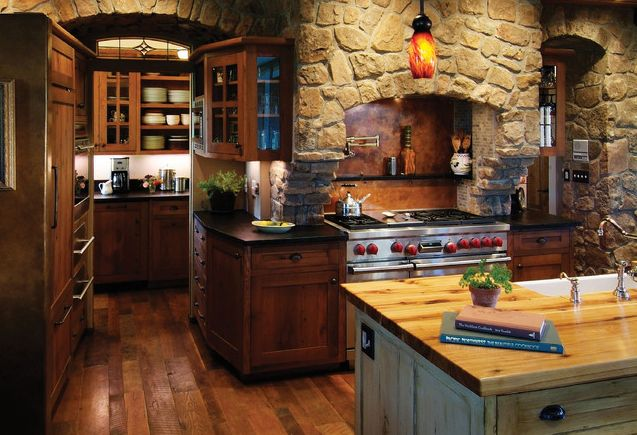 rustic country kitchen ideas photo - 1