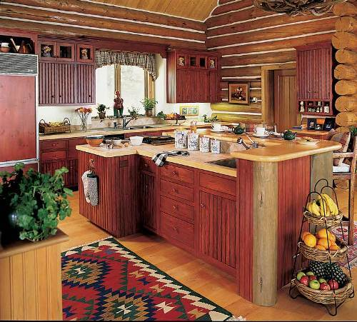 rustic country kitchen ideas photo - 4