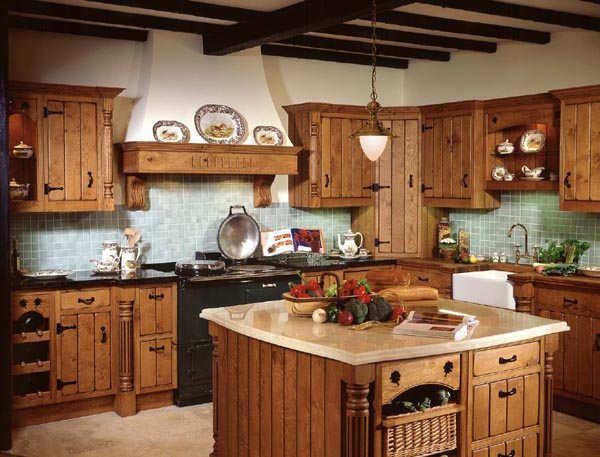 rustic country kitchen photos photo - 1