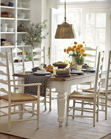 rustic country kitchen tables photo - 4