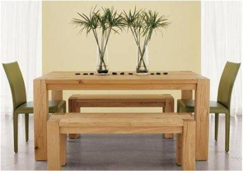 rustic dining table crate and barrel photo - 3