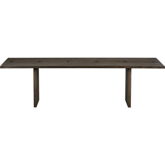 rustic dining table crate and barrel photo - 4