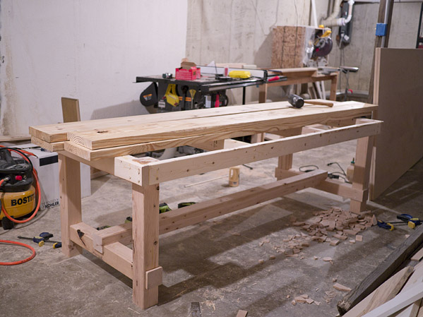 rustic dining table diy photo - 5