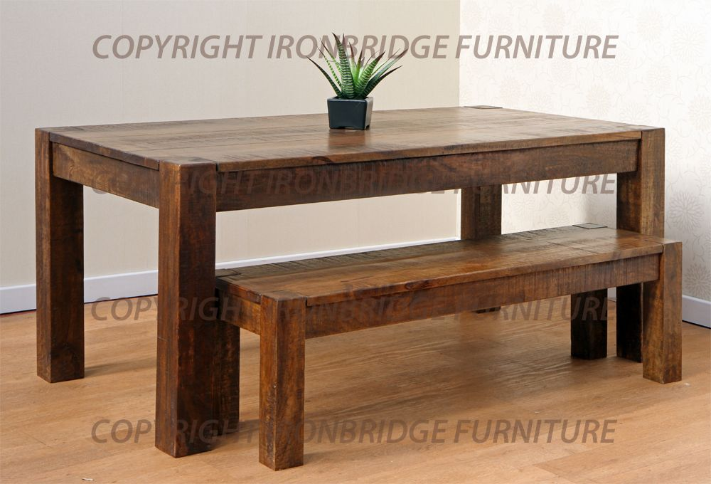 Rustic Dining Table With Bench Interior amp Exterior Doors