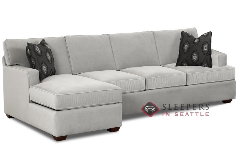 sectional sleeper sofa with chaise photo - 1