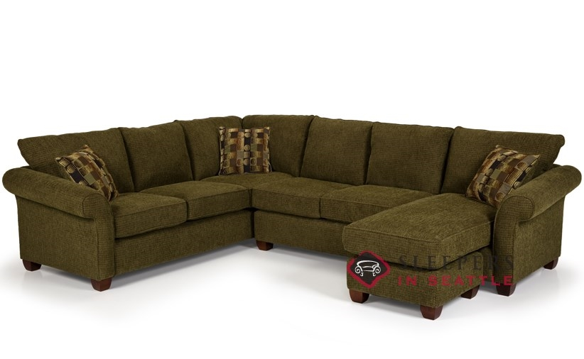 sectional sleeper sofa with chaise photo - 3