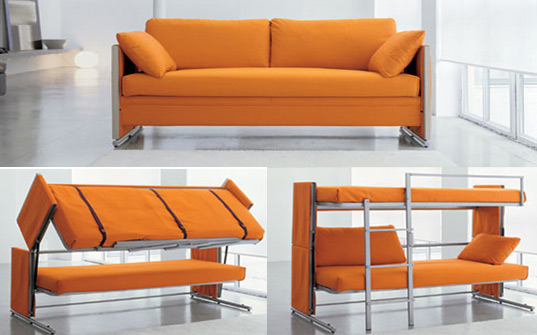 sectional sleeper sofa with storage photo - 2