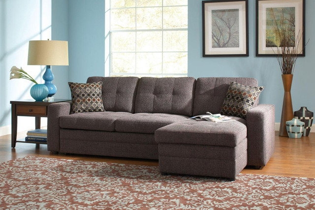 sectional sleeper sofa with storage photo - 6