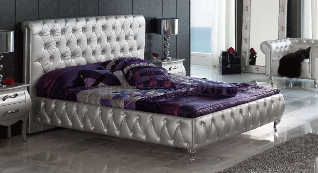 silver bedroom sets photo - 3