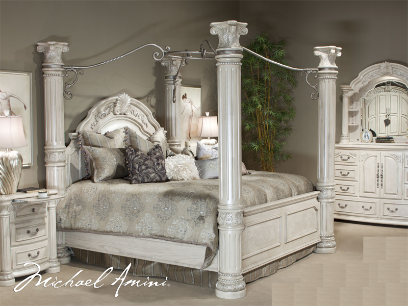 silver bedroom sets photo - 6