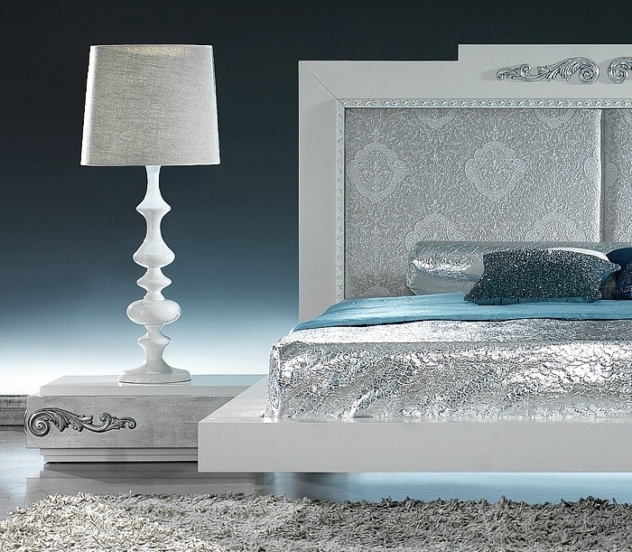 silver leaf bedroom sets photo - 2