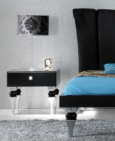 silver leaf bedroom sets photo - 4