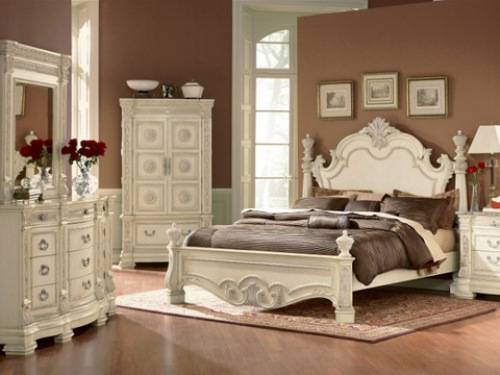 silver leaf bedroom sets photo - 6