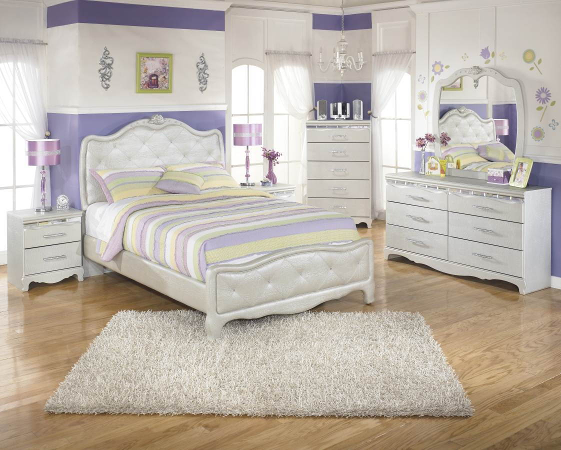 silver wood bedroom sets photo - 3